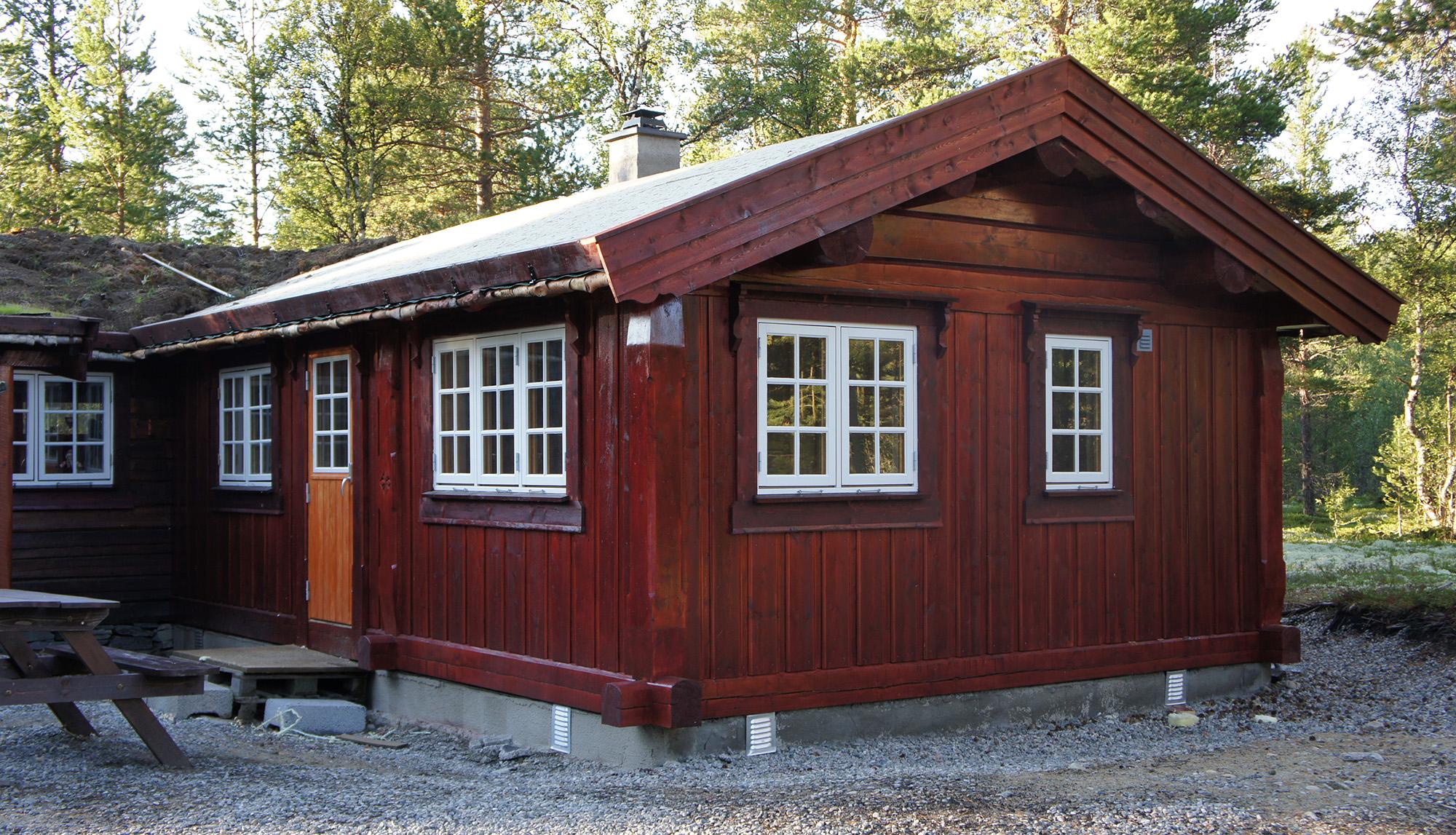 laftet hytte