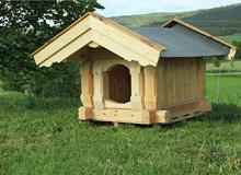 Laftet Hundehus